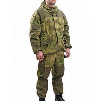 Костюм Горка NEW Рип-стоп цв. Атак зеленый с накладками